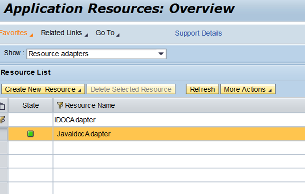 Enable IDOC adapter monitoring in SAP PO
