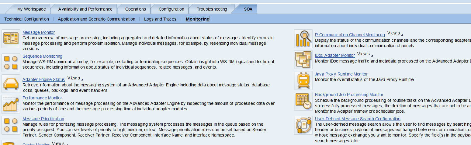 User defined message search in SAP PI 7 31/7 4/7 5 (Java Only