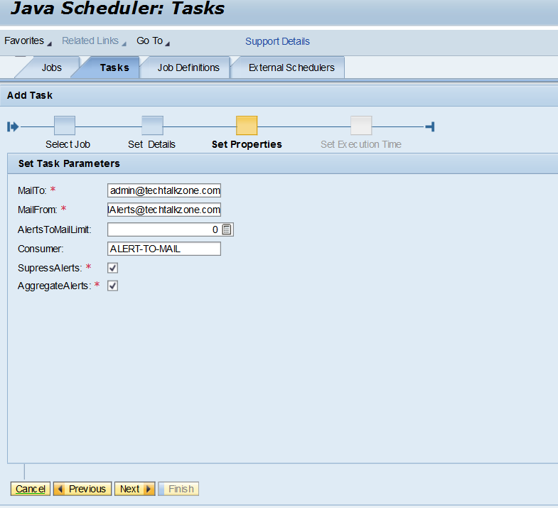 Alert configuration in sap pi 7 4/7 5 single stack - TechTalkZone