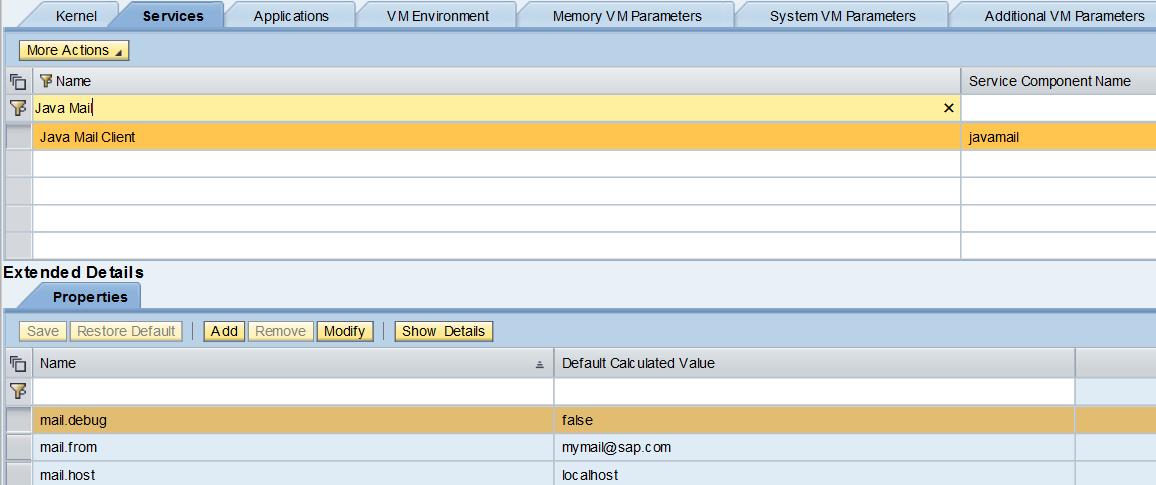 Alert configuration in sap pi 7 4/7 5 single stack